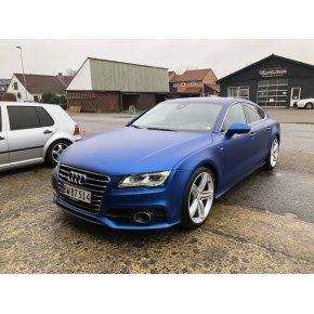 Audi A7 - Matt Metallic Midnight Blue (HEXIS)