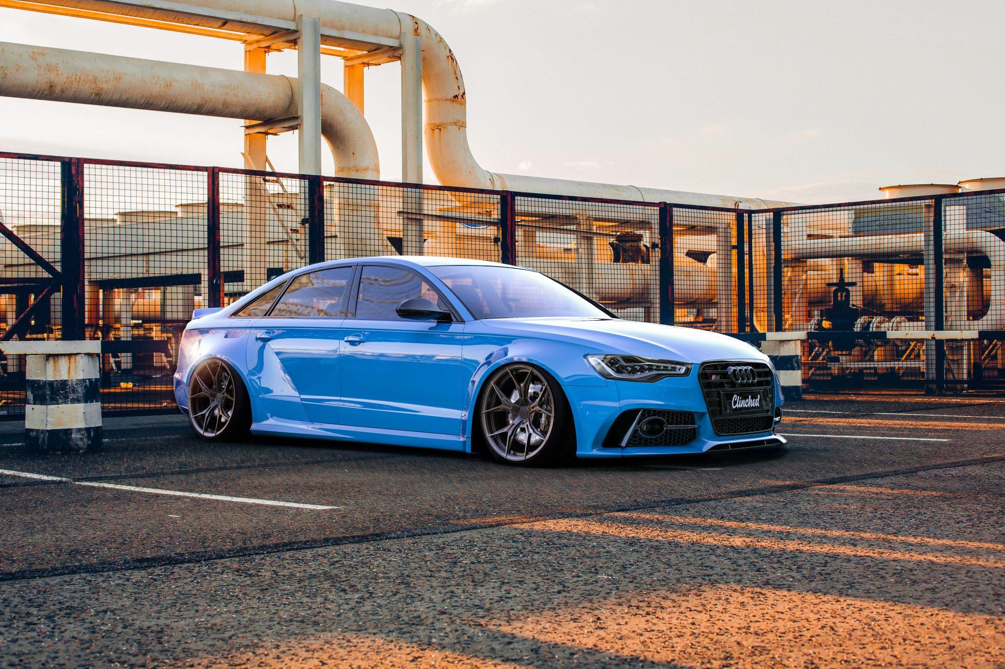 Audi A6 (C7) Widebody Kit - Widebody kit - FolieGejl dk