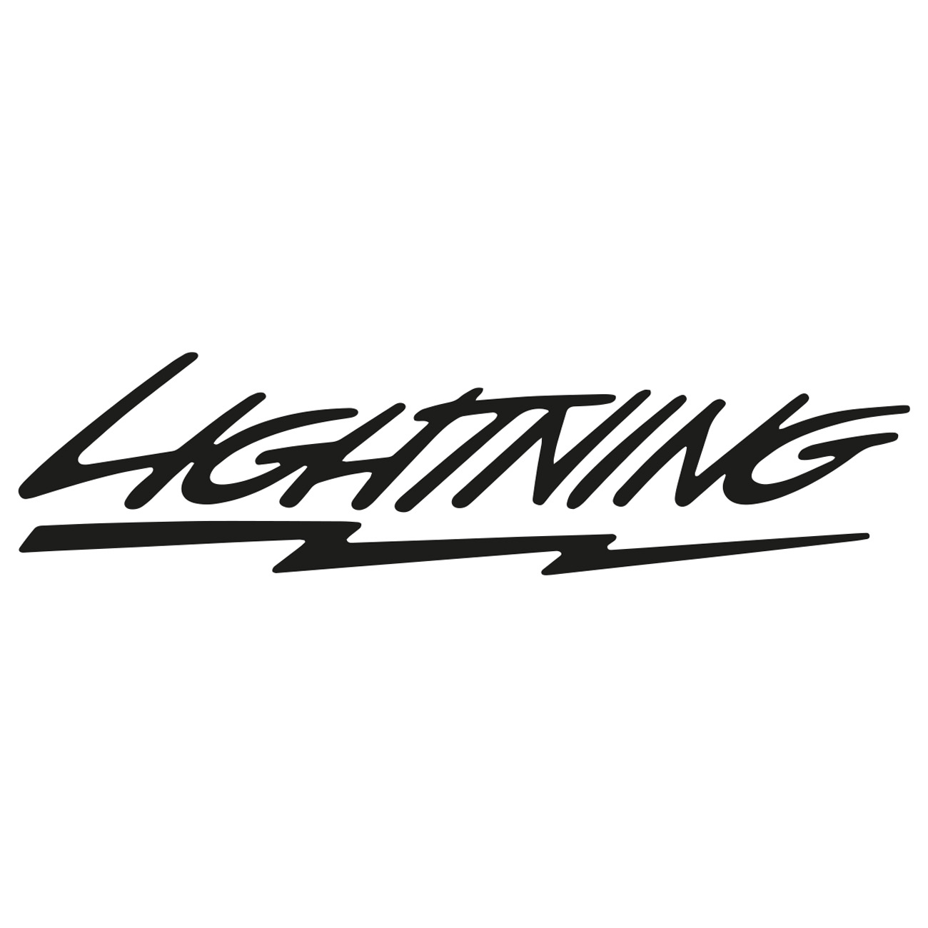 Ford lightning logo