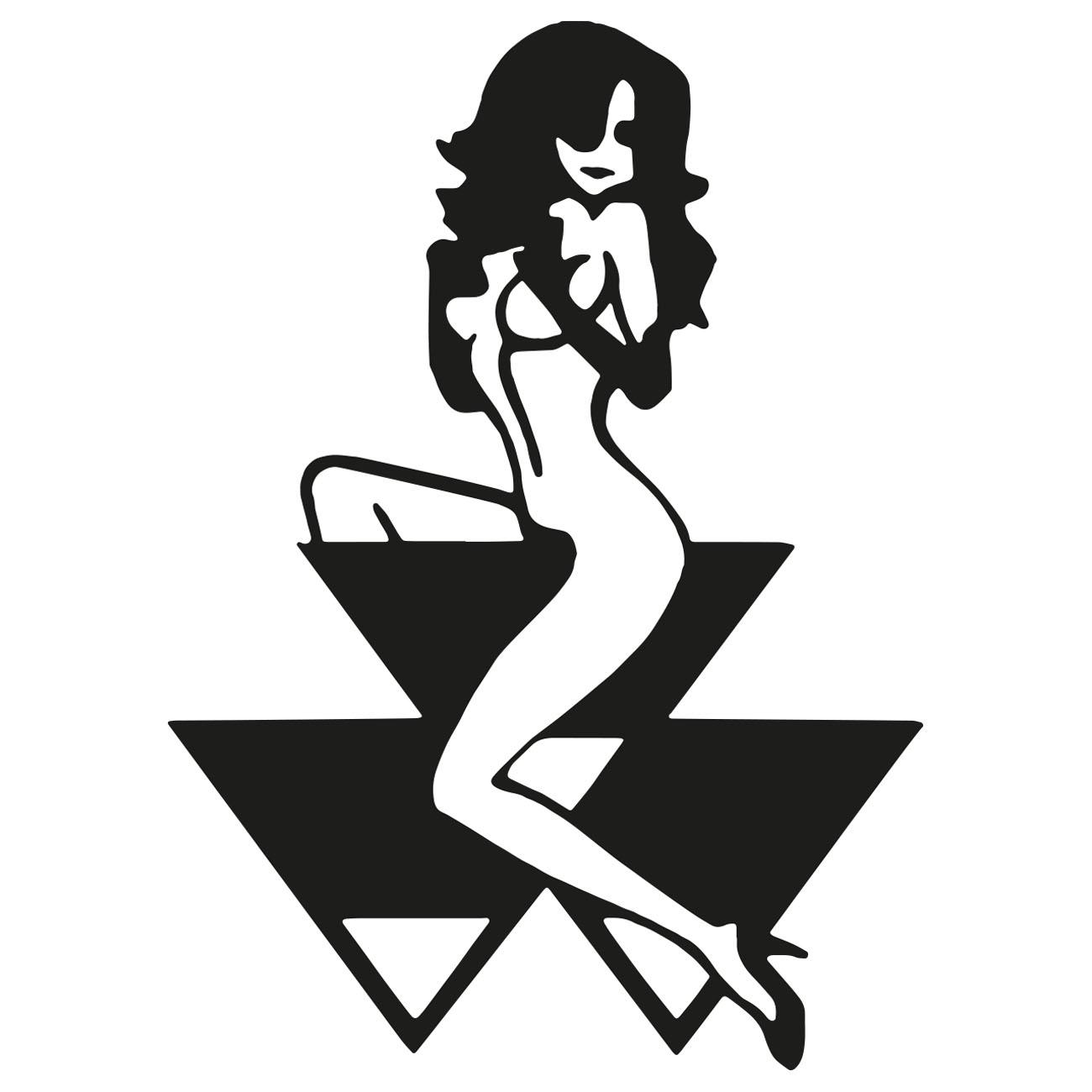 Massey Ferguson Logo Girl Vis Alle Stickers Foliegejl Dk
